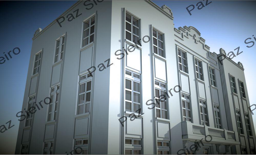 Works 3d instituto provincial de hixiene 1929 avenida de zamora ourense arquitecto manuel - Arquitectos ourense ...