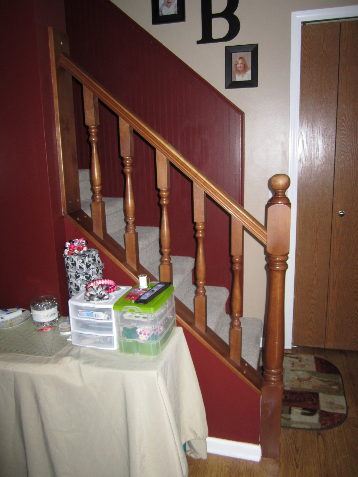 How To Paint A Staircase Banister Without Sanding