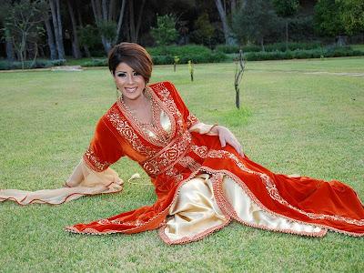 أخر صيحات الموضة في القفطان المغربي 2013