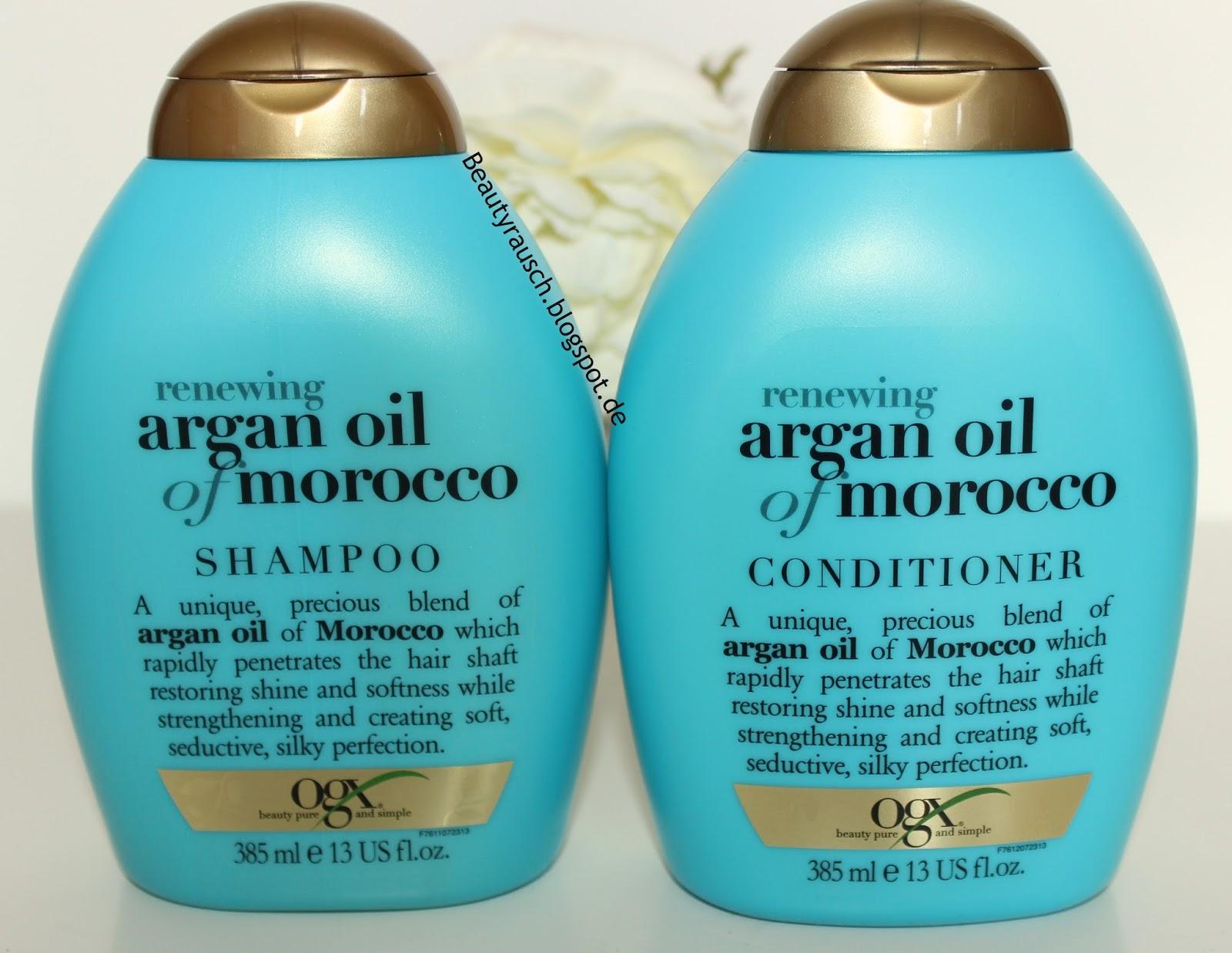 beautyrausch ogx renewing argan oil of marocco haarpflege. Black Bedroom Furniture Sets. Home Design Ideas