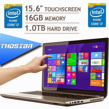 Laptop Terbaru Thosiba Beresolusi 4K Ultra HD