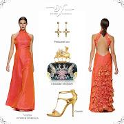 Las Oreiro 2013 vestidos primavera verano 2013 moda argentina. vestidos de fiesta las oreiro vestidos