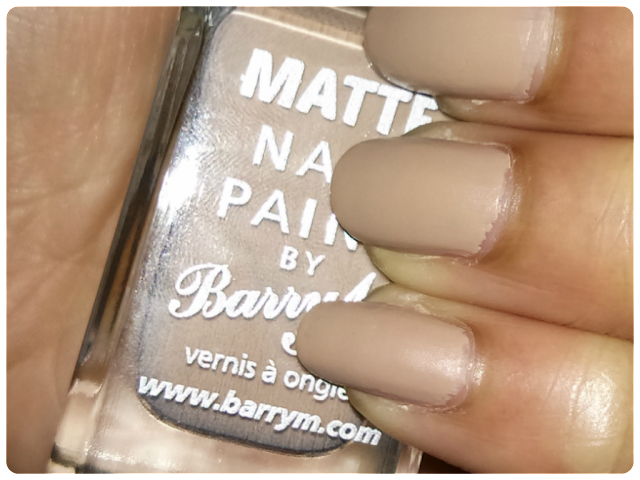 Barry M Matte Nail Paint Caramel, nude for darker skin tones
