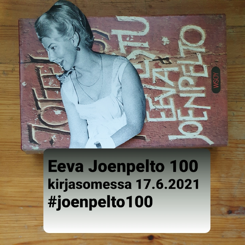Eeva Joenpelto 100 -lukuhaaste