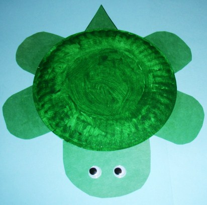 The kids might like to make this paper plate turtle (a reptile). & Learning Ideas - Grades K-8: Paper Plate Turtle Craft Project and Books