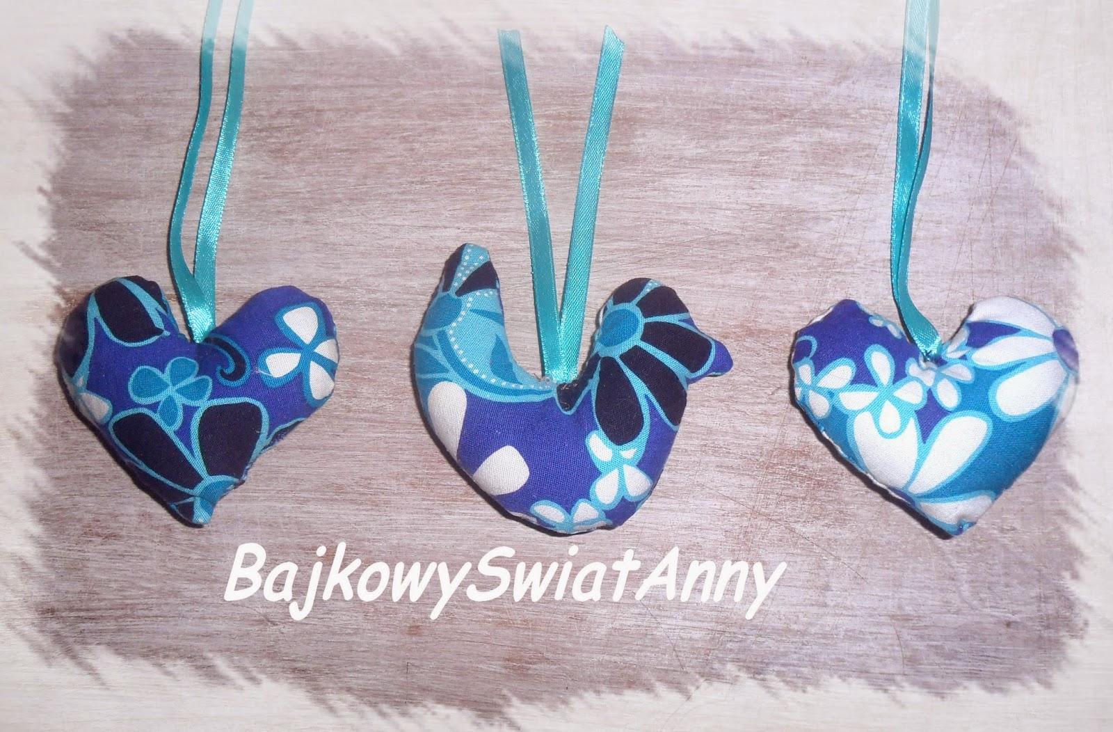 Ptaszki zawieszki – maleńkie hand made