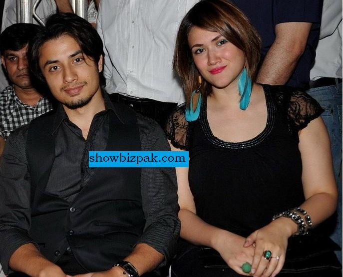 Ali Zafar Wife and Son