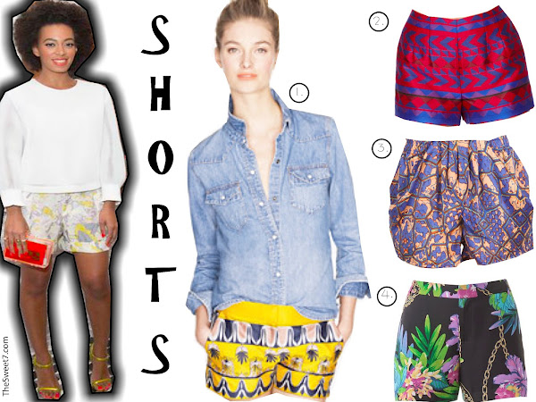 Inspired by Solange Knowles - Shorts