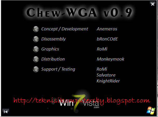 Download Chew wga 0 9 the windows 7 patch files - TraDownload