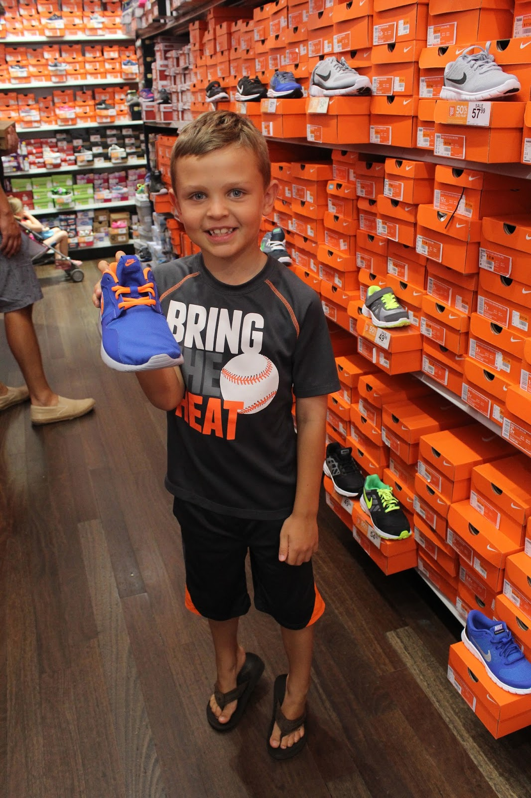 NY Mets Nike Rack Room Shoes