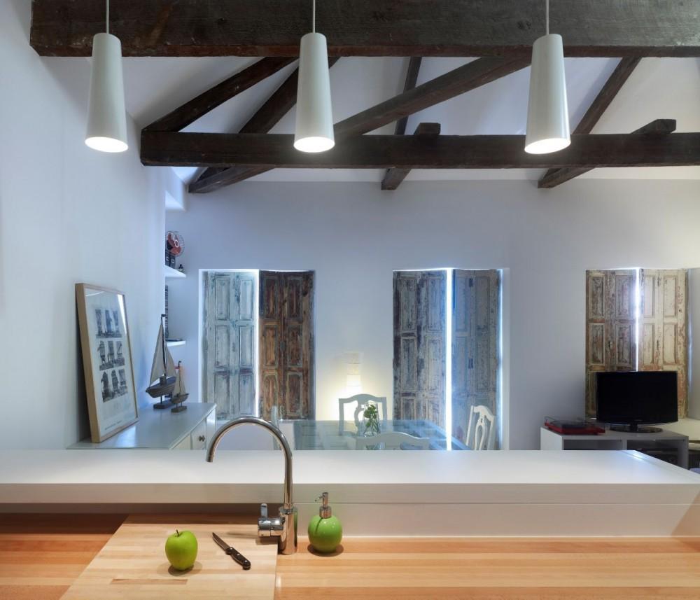 Interiorismo low cost barcelona interiorismo low cost en barcelona casa cubos u a arquitectura - Interiorismo vigo ...