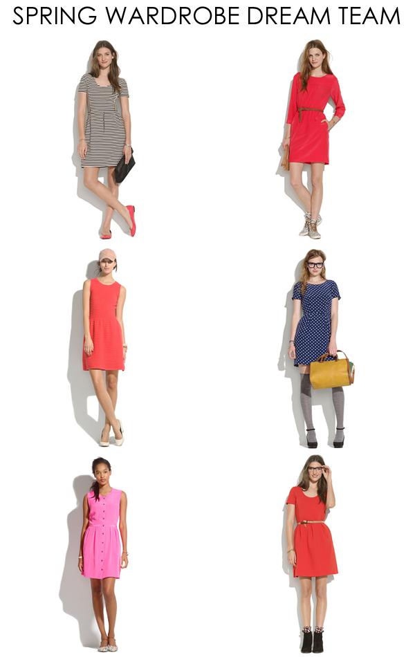 madewell spring dresses