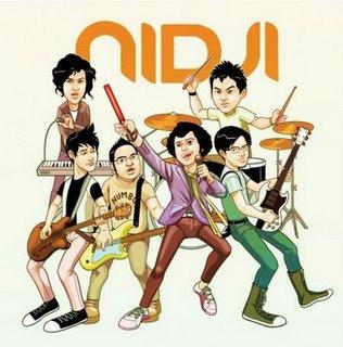 kunci gitar Nidji Rahasia Hati