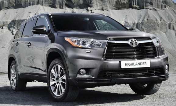 2017 Toyota Highlander Release Date USA