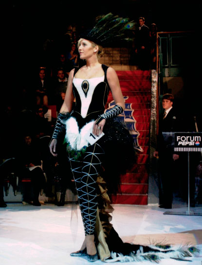 """National Fashion Competition 2001"" Montreal QC"