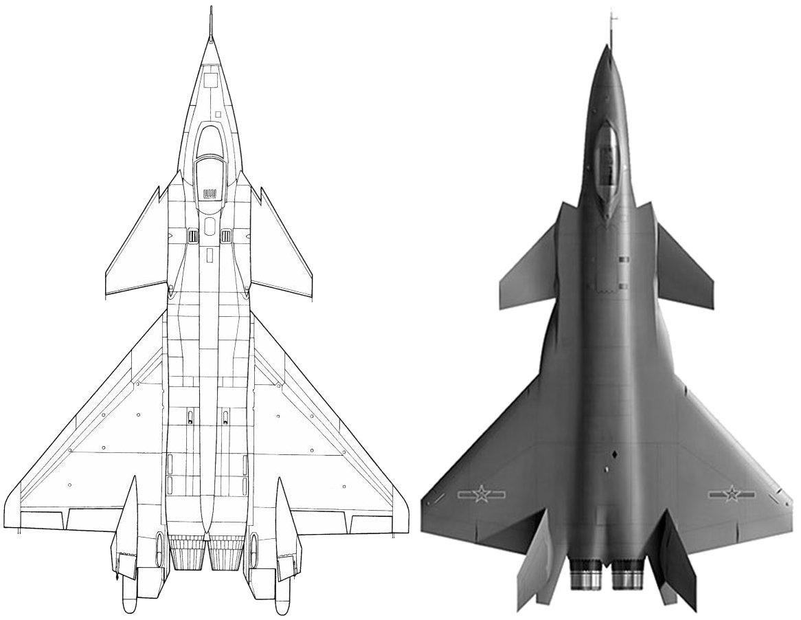 PAK-FA, T-50: News #4 - Page 20 Mig-144_j-20
