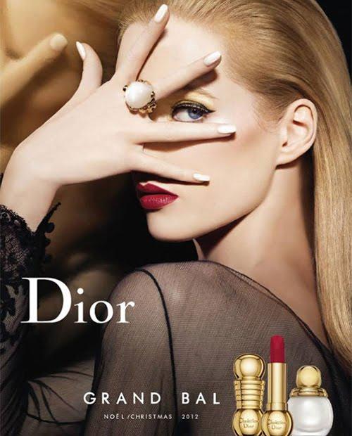 парти грим с Dior Grand Bal