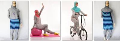 Desain Model Hijab Modern untuk Olahraga