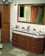 παραδοσιακό έπιπλο μπάνιου