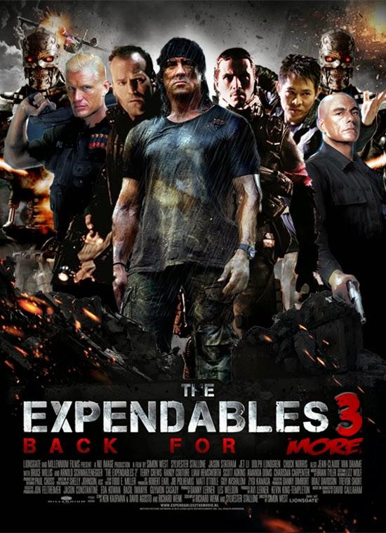 Biệt đội đánh thuê 3 - The Expendables 3 (2014) Poster