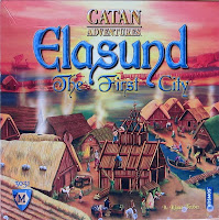 Elasund: The First City of Catan - The box artwork