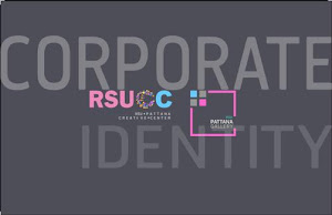 rsu cc and Pattana gallery Corporate Identity