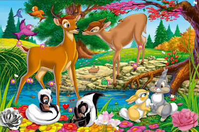 Bambi and Faline Pictures Animated Film Bambi