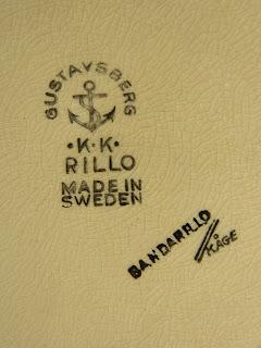 Gustavsberg bandarillo