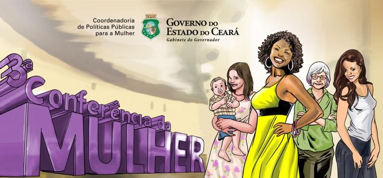 Conferência Estadual de Políticas para as Mulheres do Ceará