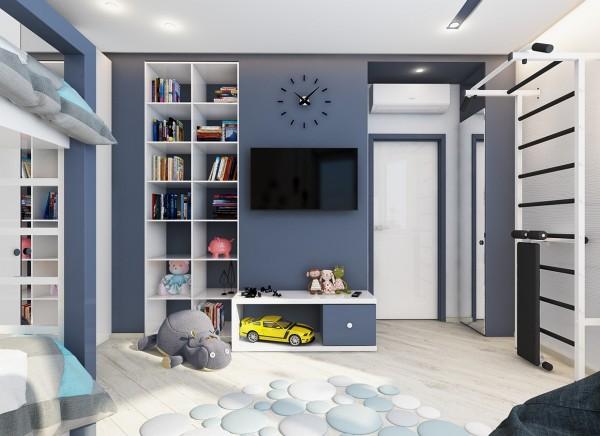 4 mẫu phòng ngủ đẹp cho trẻ em tại dự án Central Point Mỹ Đình 11