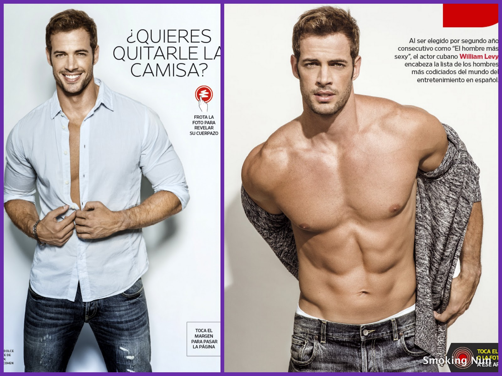 William Levy S  People En Espa  Ol   Sexiest Man Alive  Inside Spread
