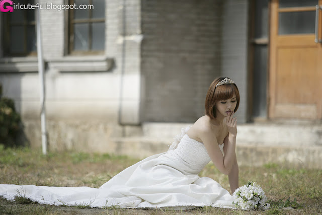 7 Kang Yui - Wedding Dress-very cute asian girl-girlcute4u.blogspot.com