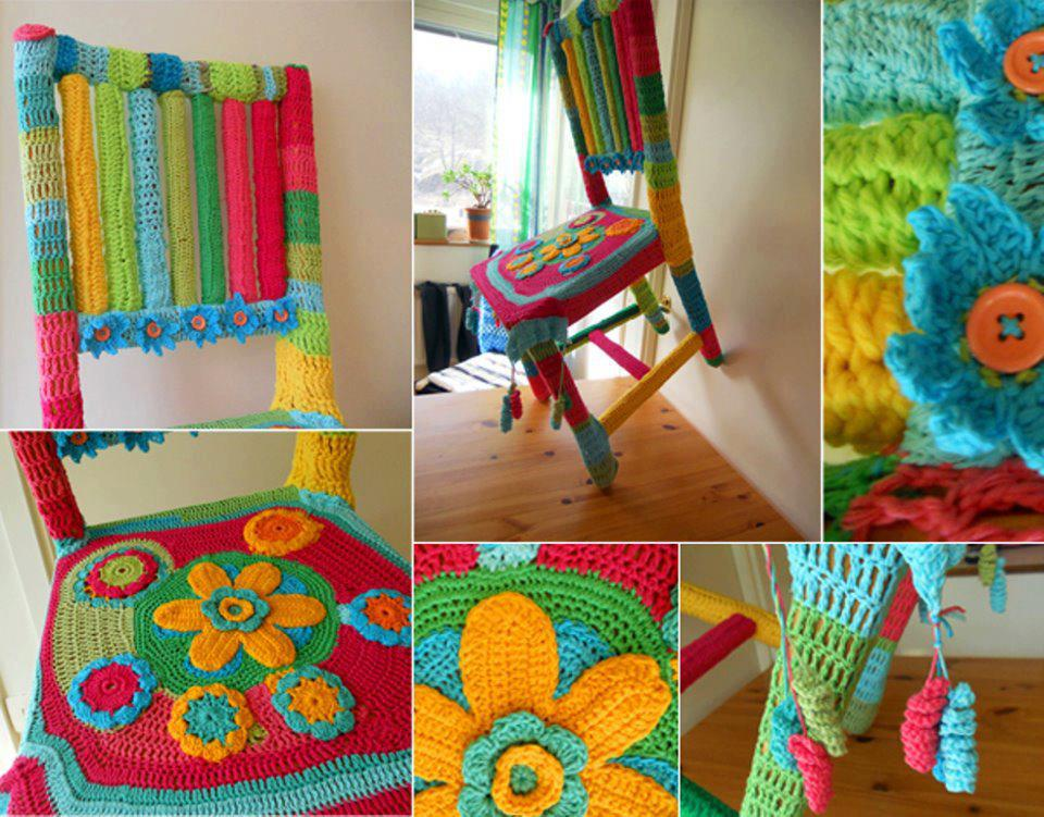D ia klier trabalhos manuais ideias geniais com croch - Manualidades recicladas para decorar ...