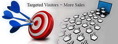 Targeted traffic means more sales