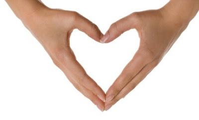 Have You Resolved Struggle Vs Surrender - heart with hand shape