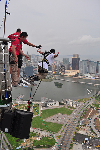Macau Bungee Tower, Check Out Macau Bungee Tower : cnTRAVEL
