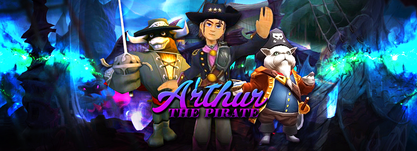 Arthur  the pirate