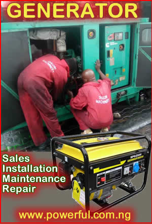 Generator Maintenance Service in Ikeja