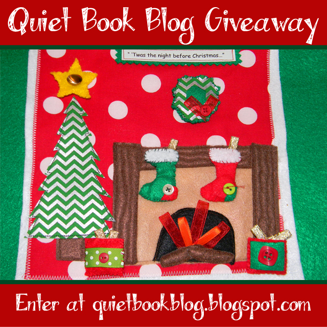 http://quietbookblog.blogspot.com/2015/10/christmas-quiet-book-kit-giveaway.html