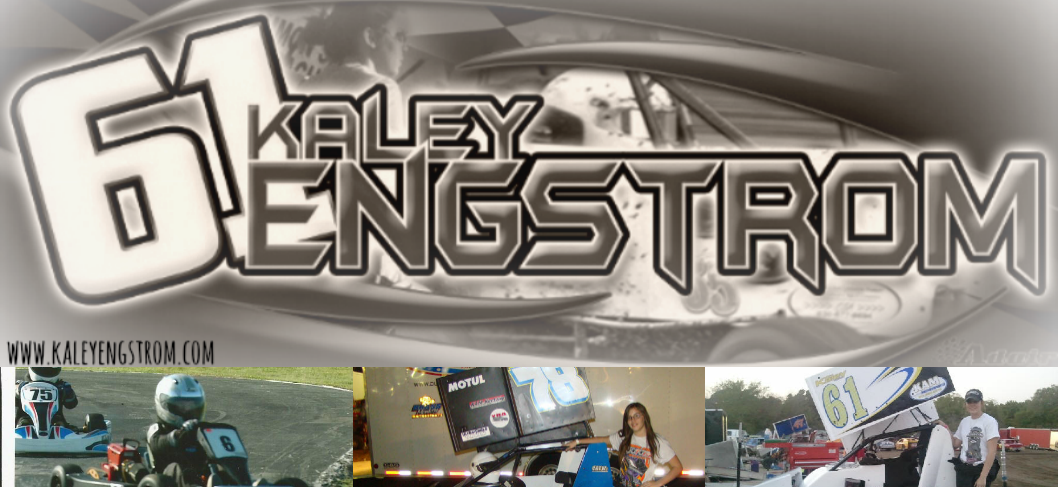 Kaley Engstrom Racing Blog