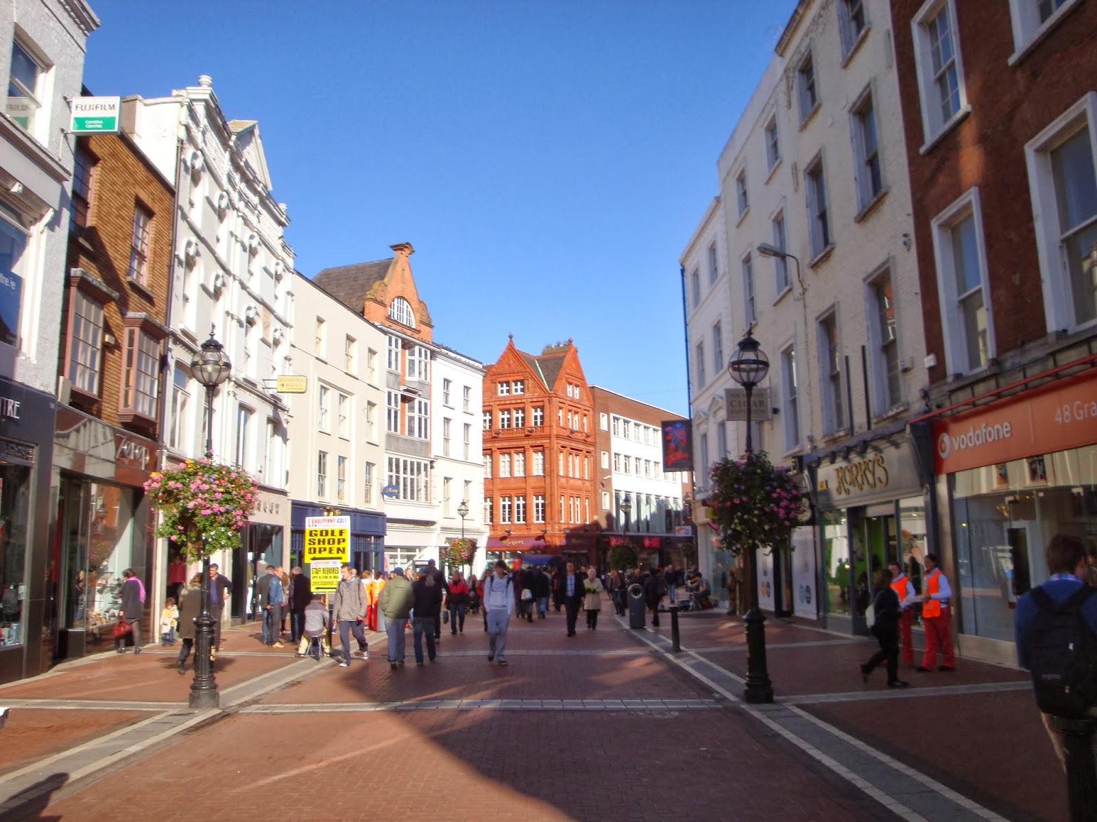 Grafton Street. Guía de viaje de Dublín. Tu Maleta.