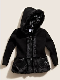 Guess Girls Proserpina Hooded Sweater Jacket Sizes 4 - 6X