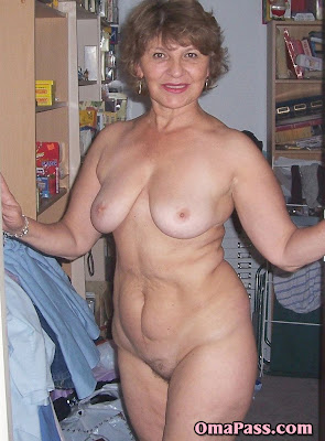 granny showing off her sexy body