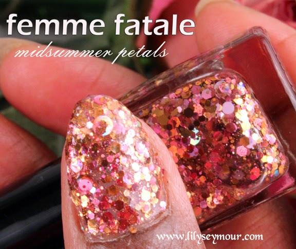 Femme Fatale Midsummer Petals Nail Polish