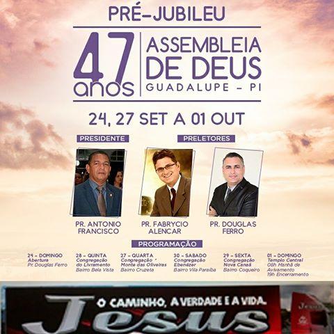 Pré-Jubileu da Igreja Assembleia de Deus de Missões