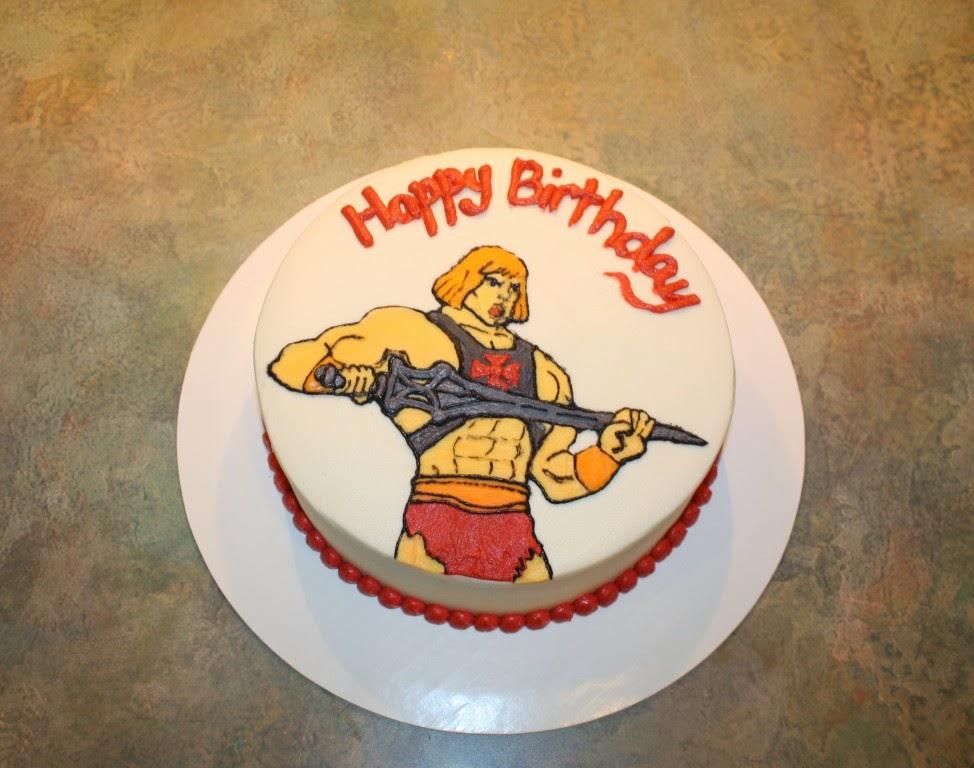 Party Cakes He Man Birthday Cake