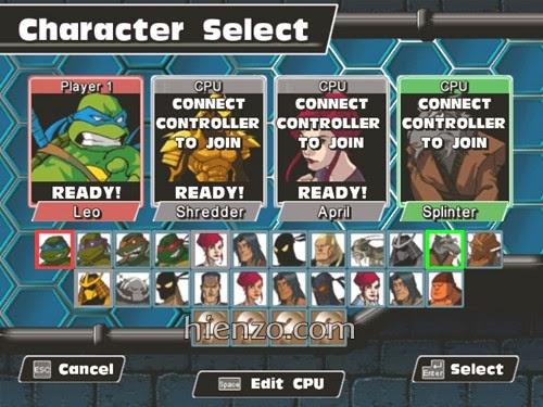 Teenage Mutant Ninja Turtles - Mutant Melee PC Gameplay