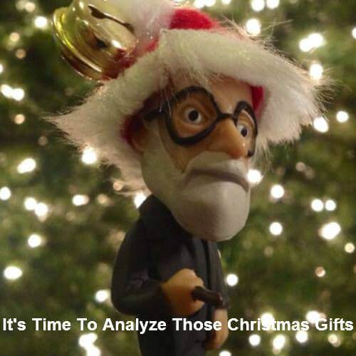 freud analyze christmas gifts