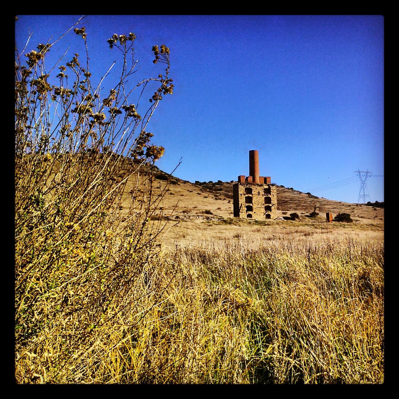 Colton Cement Plant : Grahamcrackers jamul kiln ruins