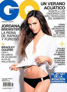 Jordana Brewster on GQ Mexico Magazine (July 2013)